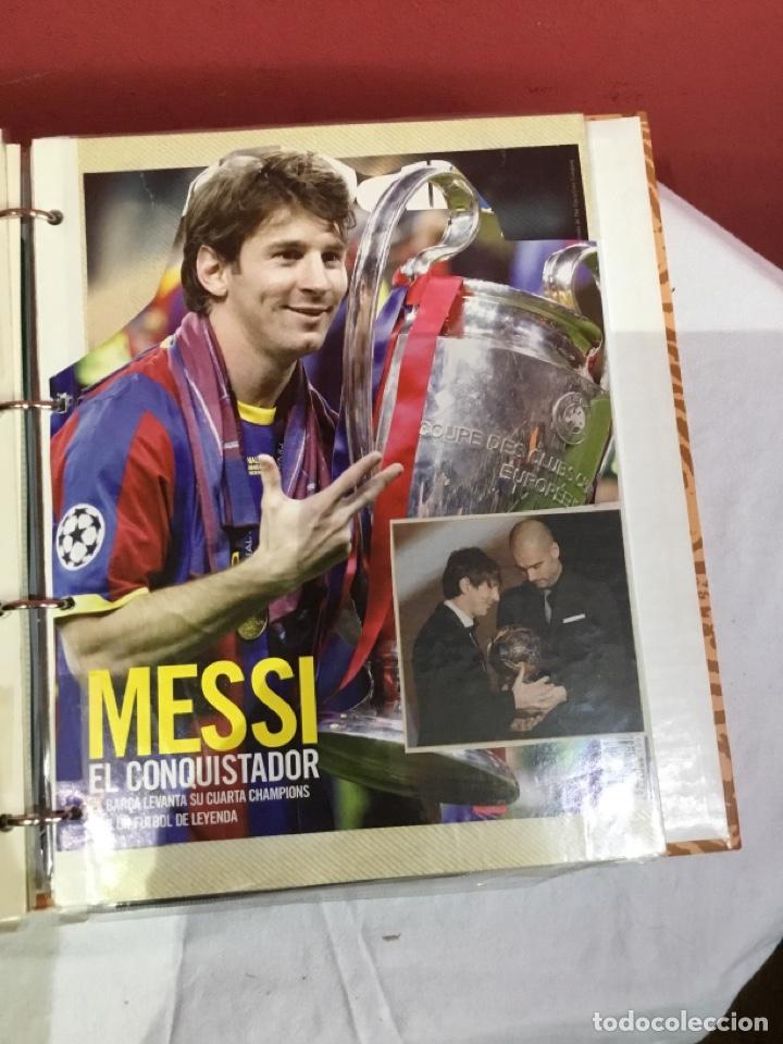 Coleccionismo deportivo: Messi . Album con mejores recortes de las revistas del futbolista Messi - Foto 25 - 256145705