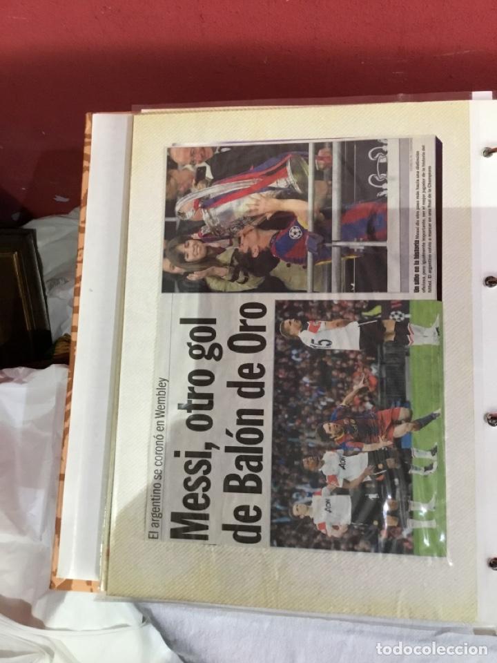 Coleccionismo deportivo: Messi . Album con mejores recortes de las revistas del futbolista Messi - Foto 26 - 256145705