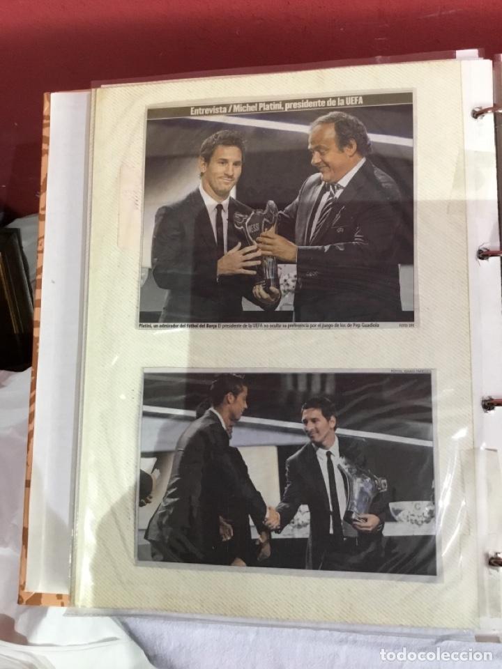 Coleccionismo deportivo: Messi . Album con mejores recortes de las revistas del futbolista Messi - Foto 27 - 256145705