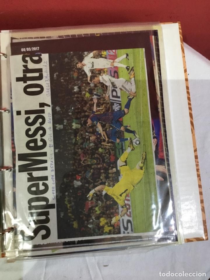 Coleccionismo deportivo: Messi . Album con mejores recortes de las revistas del futbolista Messi - Foto 28 - 256145705
