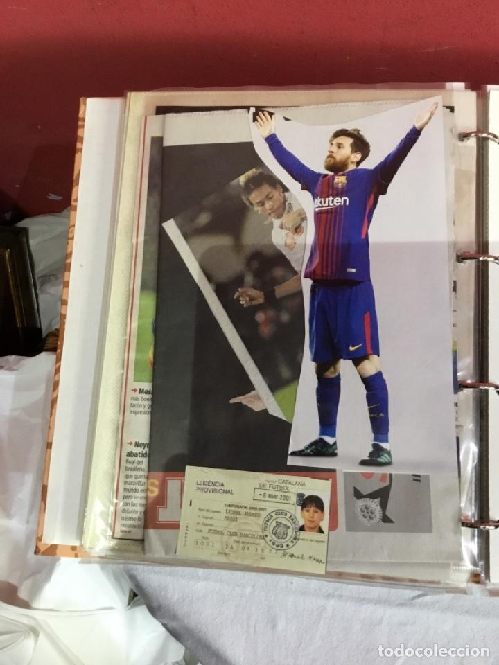 Coleccionismo deportivo: Messi . Album con mejores recortes de las revistas del futbolista Messi - Foto 30 - 256145705