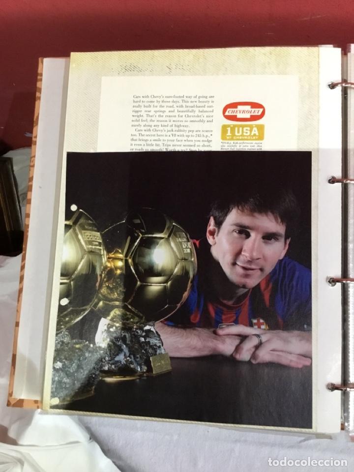 Coleccionismo deportivo: Messi . Album con mejores recortes de las revistas del futbolista Messi - Foto 35 - 256145705