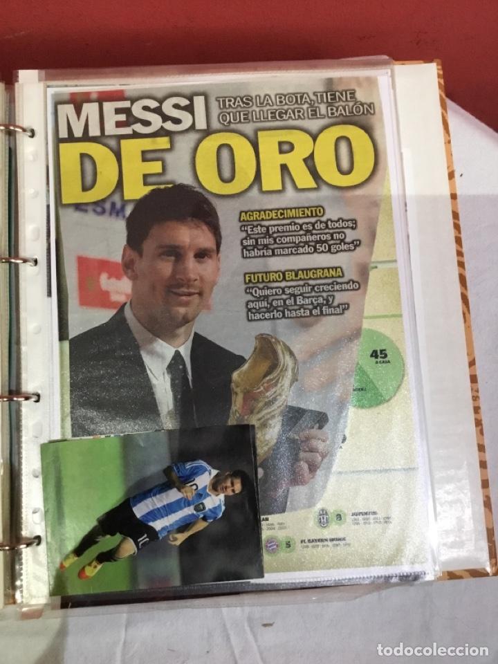 Coleccionismo deportivo: Messi . Album con mejores recortes de las revistas del futbolista Messi - Foto 36 - 256145705