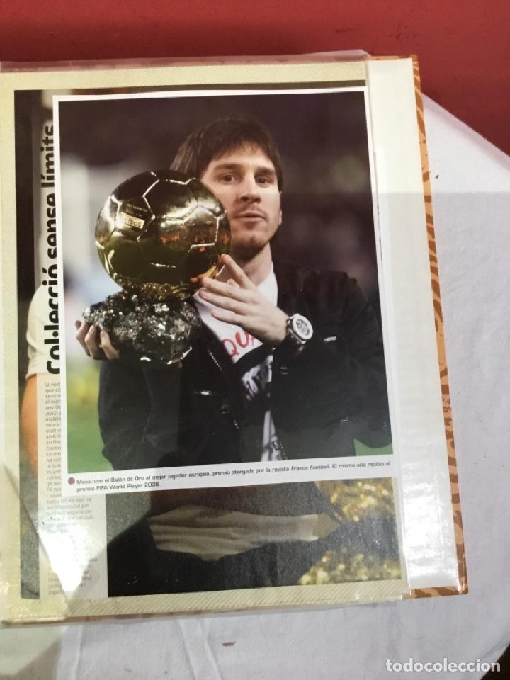 Coleccionismo deportivo: Messi . Album con mejores recortes de las revistas del futbolista Messi - Foto 38 - 256145705