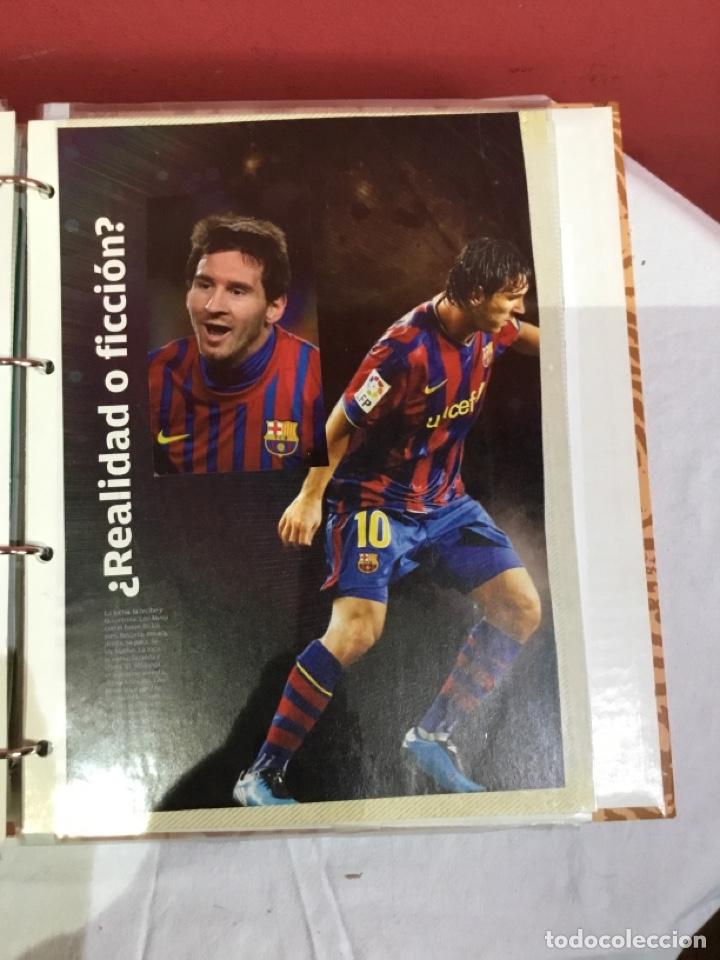 Coleccionismo deportivo: Messi . Album con mejores recortes de las revistas del futbolista Messi - Foto 40 - 256145705