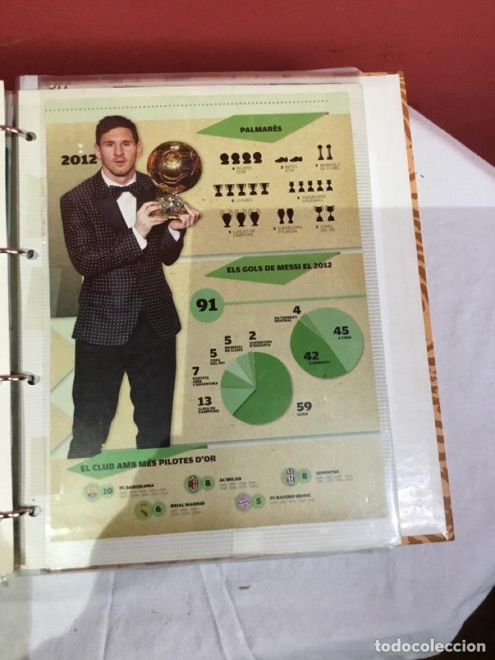 Coleccionismo deportivo: Messi . Album con mejores recortes de las revistas del futbolista Messi - Foto 42 - 256145705
