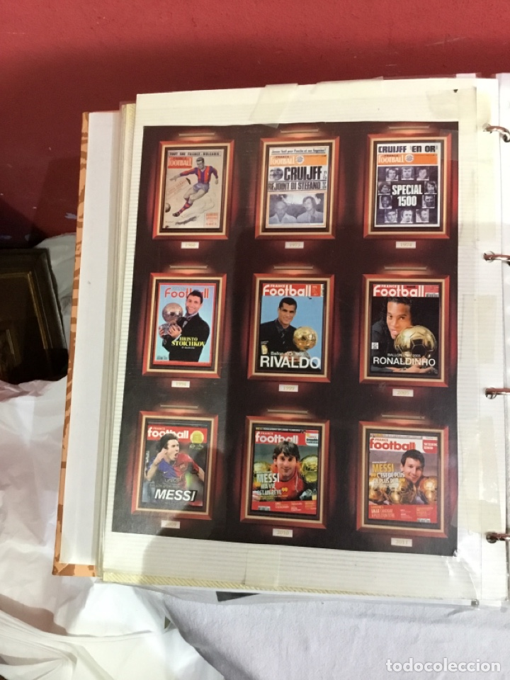 Coleccionismo deportivo: Messi . Album con mejores recortes de las revistas del futbolista Messi - Foto 43 - 256145705