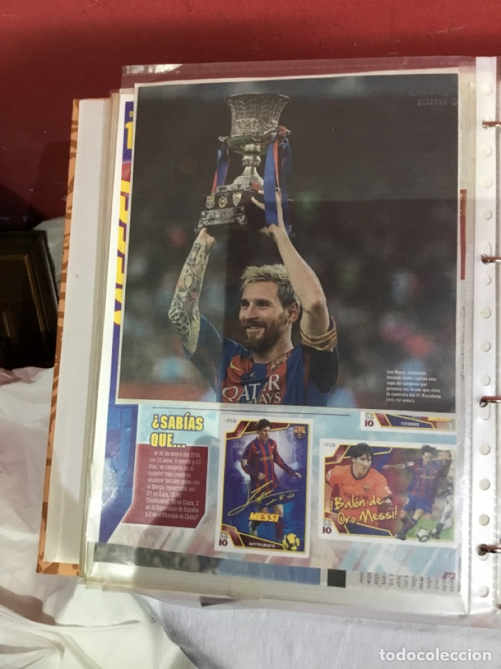 Coleccionismo deportivo: Messi . Album con mejores recortes de las revistas del futbolista Messi - Foto 45 - 256145705