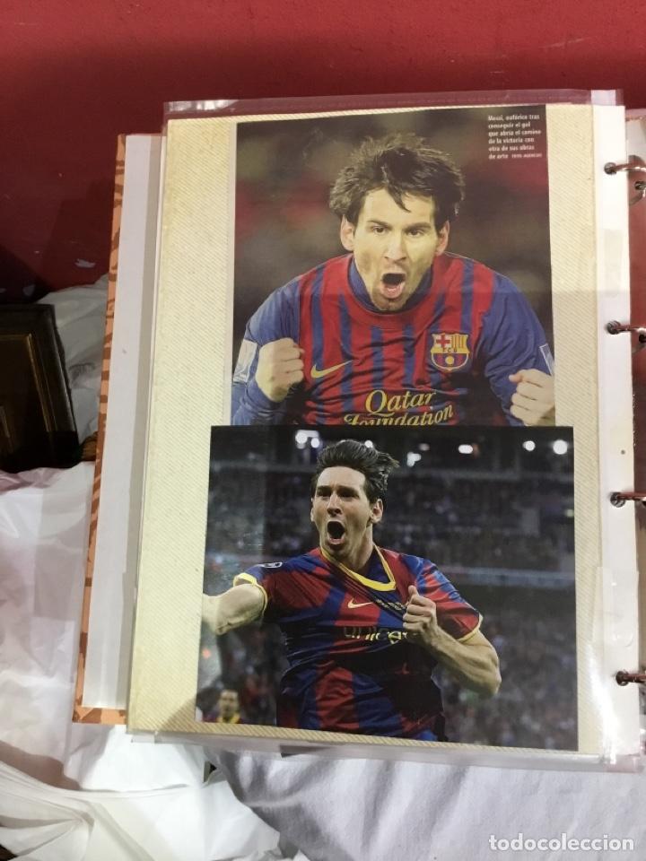 Coleccionismo deportivo: Messi . Album con mejores recortes de las revistas del futbolista Messi - Foto 47 - 256145705