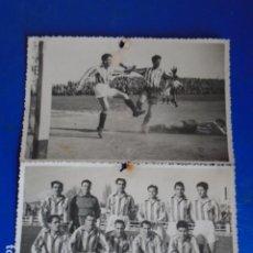 Coleccionismo deportivo: (F-210425)LOTE DE 2 FOTOGRAFIAS C.D.JUPITER AÑOS 40. Lote 257276690