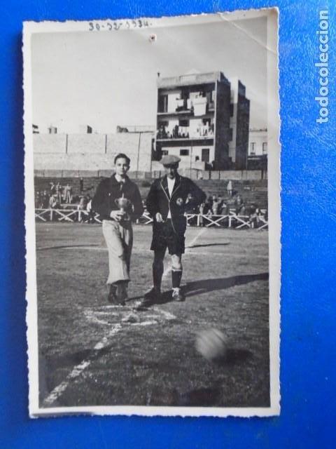 Coleccionismo deportivo: (F-210428)LOTE DE 17 FOTOGRAFIAS FUTBOL AÑOS 30 y 40. - Foto 4 - 257278090