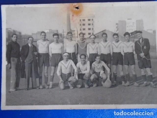 Coleccionismo deportivo: (F-210428)LOTE DE 17 FOTOGRAFIAS FUTBOL AÑOS 30 y 40. - Foto 8 - 257278090