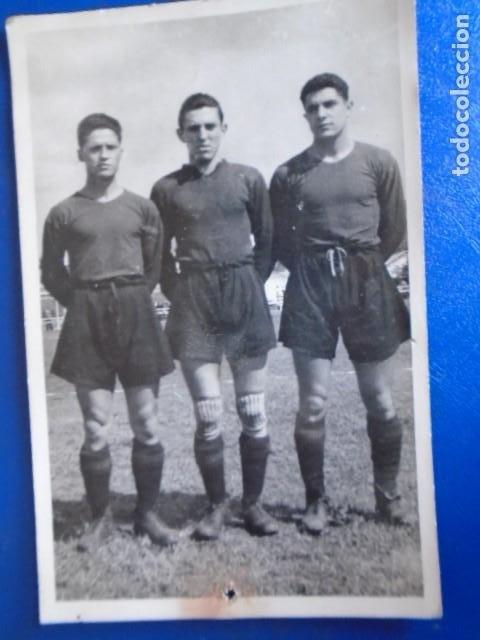 Coleccionismo deportivo: (F-210428)LOTE DE 17 FOTOGRAFIAS FUTBOL AÑOS 30 y 40. - Foto 11 - 257278090