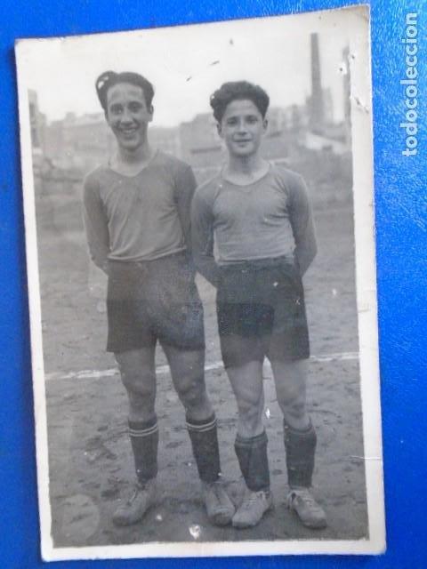 Coleccionismo deportivo: (F-210428)LOTE DE 17 FOTOGRAFIAS FUTBOL AÑOS 30 y 40. - Foto 15 - 257278090