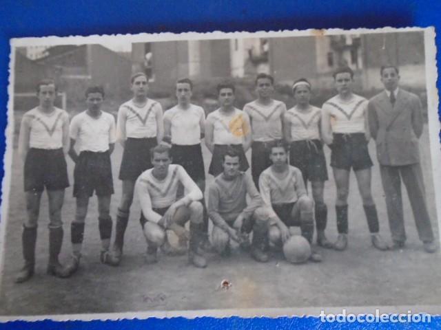 Coleccionismo deportivo: (F-210428)LOTE DE 17 FOTOGRAFIAS FUTBOL AÑOS 30 y 40. - Foto 19 - 257278090