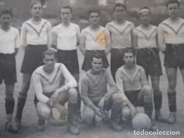 Coleccionismo deportivo: (F-210428)LOTE DE 17 FOTOGRAFIAS FUTBOL AÑOS 30 y 40. - Foto 20 - 257278090