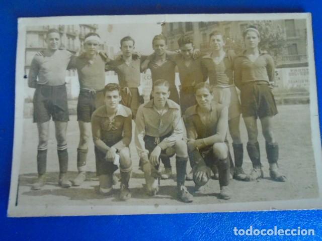 Coleccionismo deportivo: (F-210428)LOTE DE 17 FOTOGRAFIAS FUTBOL AÑOS 30 y 40. - Foto 25 - 257278090