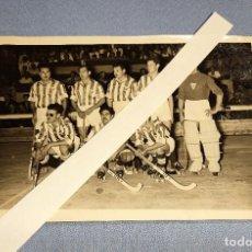 Coleccionismo deportivo: ANTIGUA Y EXCLUSIVA FOTO ORIGINAL DE HOCKEY DEL C.D. TORTOSA DEL AÑO 1954. Lote 257956965