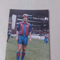 Colecionismo desportivo: LAUDRUP - FOTO 10X15 CM - BARCELONA. Lote 260499395