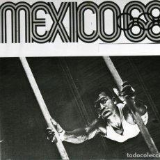 Coleccionismo deportivo: CARTEL ANUNCIADOR DE LOS JUEGOS OLÍMPICOS MÉXICO 68. TELEFOTO HISPANIA PRESS. Lote 261337830