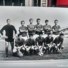 Coleccionismo deportivo: FÚTBOL - ANTIGUA FOTOGRAFÍA ¿ LINARES ? ¿ REAL JAÉN ? ORIGINAL - 17,5 X 12 CMS. Lote 262133755