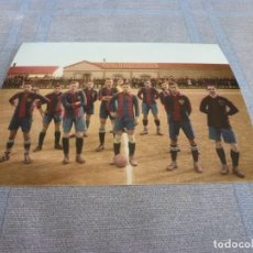 Collectionnisme sportif: FOTO MATE (11 X 15) 1914-15 ESPAÑOL 4 BARÇA 0. Lote 262458965