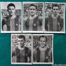Coleccionismo deportivo: FÚTBOL C.F. BARCELONA FOTOGRAFÍA KUBALA CÉSAR MANCHÓN EL BARÇA DE LES CINC COPES 1954. Lote 262891850