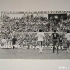 Coleccionismo deportivo: FOTOGRAFIA DEL PARTIDO DEL FC BARCELONA - R ZARAGOZA , TEMP. 78 / 79 , 18 X 13 CM,. Lote 262912485