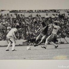 Coleccionismo deportivo: FOTOGRAFIA DEL PARTIDO DEL FC BARCELONA - R ZARAGOZA , TEMP. 78 / 79 , 18 X 13 CM,. Lote 262912585