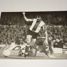 Coleccionismo deportivo: FOTOGRAFIA DEL PARTIDO DEL FC BARCELONA - HERCULES FC 1978 / 79 ,18 X 12 CM, BUEN ESTADO. Lote 262913505