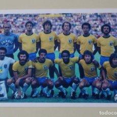 Coleccionismo deportivo: FOTOGRAFÍA FÚTBOL SELECCIÓN DE BRASIL. MUNDIAL ESPAÑA 1982.. Lote 190143745
