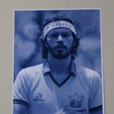 Coleccionismo deportivo: FOTOGRAFÍA FÚTBOL SÓCRATES SELECCIÓN DE BRASIL. MUNDIAL ESPAÑA 1982.. Lote 190144448