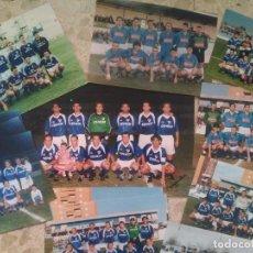 Collectionnisme sportif: FÚTBOL - LINARES, JAÉN - LOTE DE 12 FOTOGRAFÍAS ORIGINALES DE ANTIGUOS EQUIPOS - LIQUIDACIÓN !!. Lote 267897504