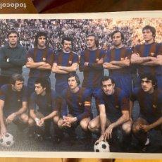 Collectionnisme sportif: FOTOGRAFIA DEL BARCELONA CON JOHAN CRUYFF ASENSI REXACH Y OTROS 28X22 APROX. Lote 268453099