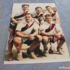 Coleccionismo deportivo: FOTO MATE(15 X 20)-ALFREDO DI ESTEFANO EN SU CLUB DE ARGENTINA. Lote 268891284