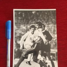 Coleccionismo deportivo: F14841 FOTO FOTOGRAFIA ORIGINAL DE PRENSA EMILIO BUTRAGUEÑO REAL MADRID VALLADOLID. Lote 269148313