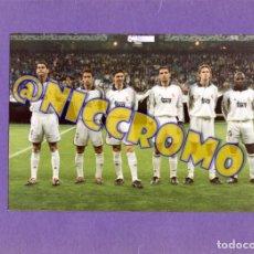 Coleccionismo deportivo: 2 FOTOGRAFIAS REAL MADRID PARTIDO FASE DE GRUPOS COPA DE EUROPA 2000 2001 CHAMPIONS LEAGUE 22 X 15. Lote 269372653