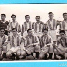 Coleccionismo deportivo: ¿EQUIPO DE FÚTBOL DE CUNILL, CONILL, CUNIT?, SIN FECHA, QUIZÁ DÉCADA DE 1950 0 1960.. Lote 269373758
