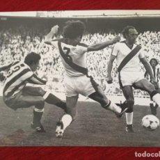 Coleccionismo deportivo: F15147 FOTO FOTOGRAFIA ORIGINAL DE PRENSA ATLETICO MADRID RAYO VALLECANO MANUEL CLARES. Lote 270635773