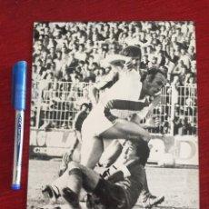 Coleccionismo deportivo: F15149 FOTO FOTOGRAFIA ORIGINAL DE PRENSA RAYO VALLECANO MANUEL CLARES. Lote 270636133