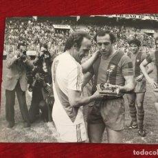 Coleccionismo deportivo: F15151 FOTO FOTOGRAFIA ORIGINAL DE PRENSA BARCELONA RAYO VALLECANO MANUEL CLARES REXACH 1980. Lote 270636313