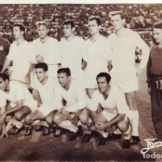 Coleccionismo deportivo: FORMACION DEL REAL MADRID EN EL TROFEO CARRANZA. Lote 272458433
