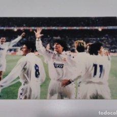 Coleccionismo deportivo: FOTOGRAFÍA ZAMORANO - REAL MADRID.. Lote 277723278