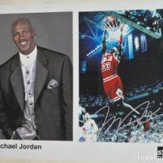 Coleccionismo deportivo: MICHAEL JORDAN - FOTO PROMOCIONAL. Lote 279373338