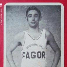 Coleccionismo deportivo: BALONCESTO ATLÉTICO S.S. FAGOR JUGADOR LUIS CARLOS DE SANTIAGO Y ZABALETA AÑOS '70. Lote 279379558