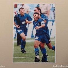 Coleccionismo deportivo: FOTOGRAFÍA FÚTBOL DIEGO MARADONA ABEL BALBO Y FERNANDO REDONDO. SELECCIÓN ARGENTINA MUNDIAL USA 1994. Lote 138021966