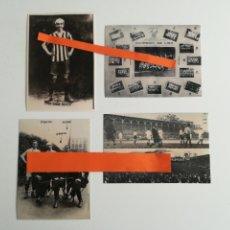 Coleccionismo deportivo: ATHLETIC BILBAO. LOTE DE 4 FOTOGRAFÍAS.. Lote 288175433