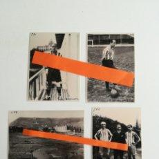 Coleccionismo deportivo: ATHLETIC BILBAO. LOTE DE 4 FOTOGRAFÍAS.. Lote 288176573