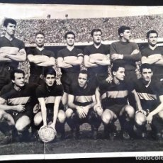 Coleccionismo deportivo: X184 - EQUIPO ARGENTINO DE FUTBOL BOCA JUNIORS 1962 - FOTO 24X18CM 1962. Lote 288191783