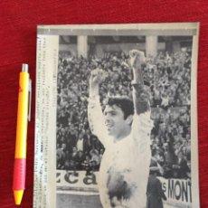 Coleccionismo deportivo: F15728 FOTO FOTOGRAFIA ORIGINAL DE PRENSA GOL PEDRO BERRUEZO MARTIN MALAGA SEVILLA. Lote 288568188